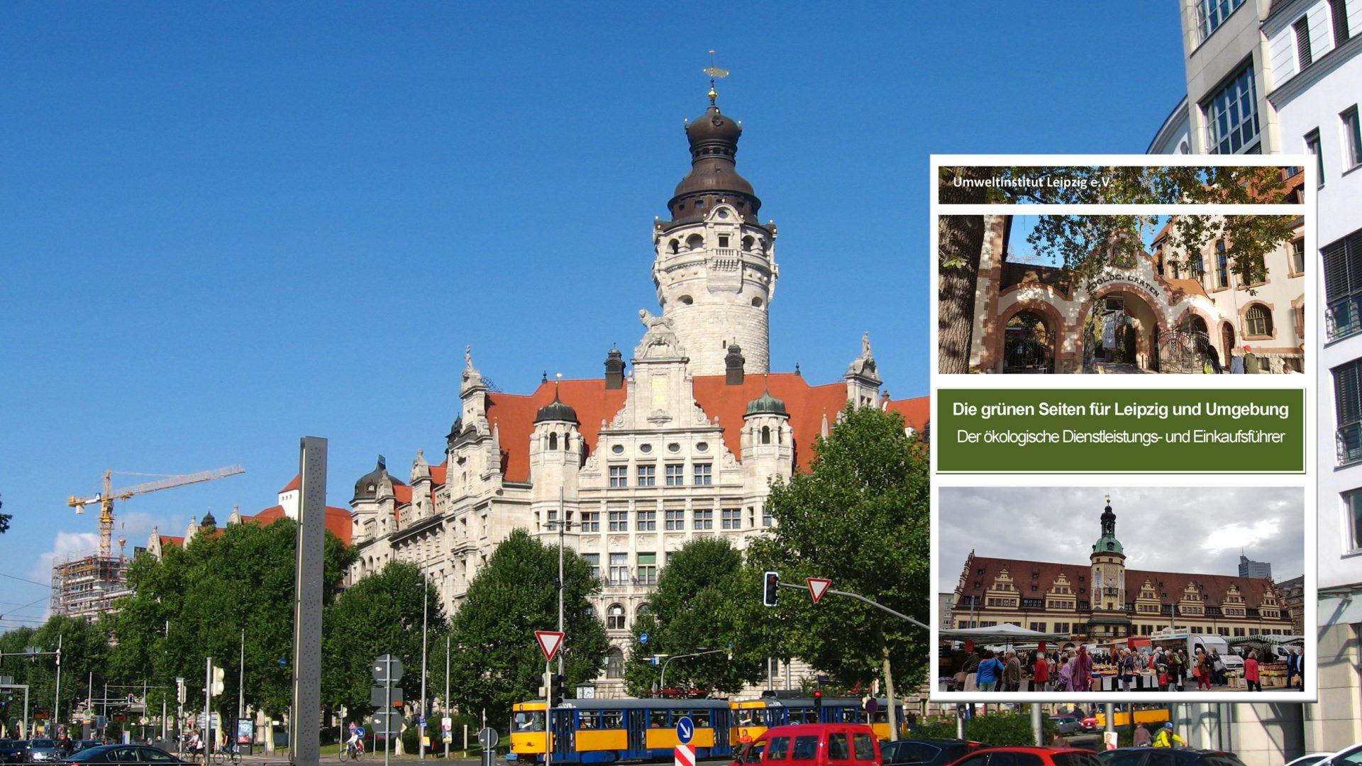 Die Grünen Seiten für Leipzig und Umgebung